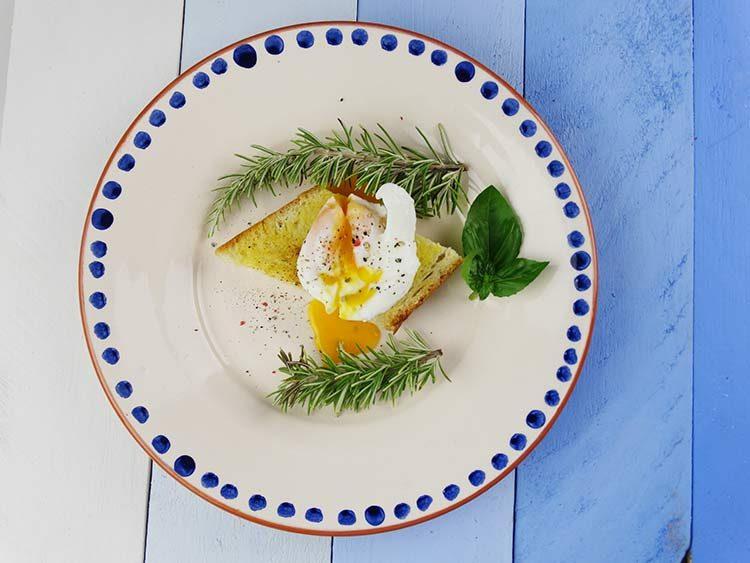 huevos poche en 30 segundos