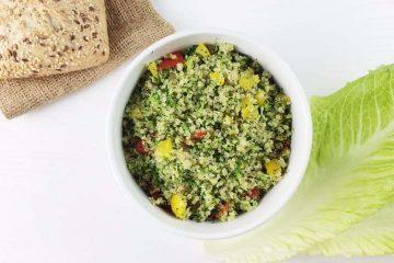 recetas con quinoa - ensalada de quinoa