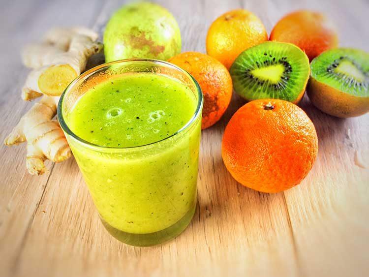 jugo verde para adelgazar con efecto antincáncer