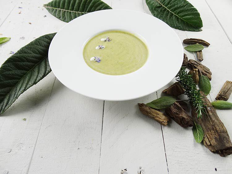 Crema de calabacin (zucchini)