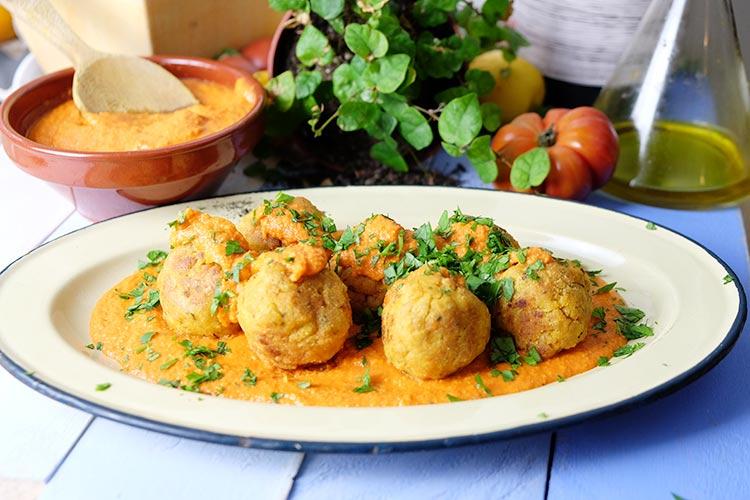 Receta de albondigas de soja soya sin gluten jorge saludable - Albondigas tradicionales ...